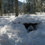 How to Build an Emergency Snow Trench Shelter