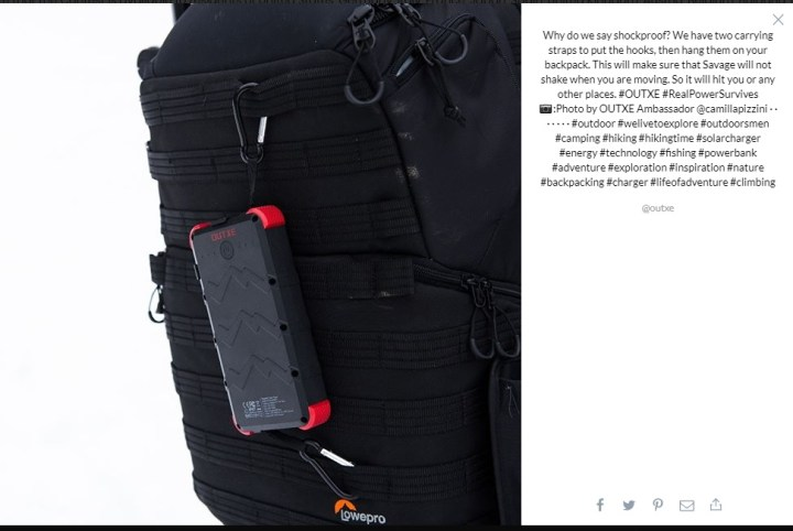 Outxes Rugged Power Bank 2