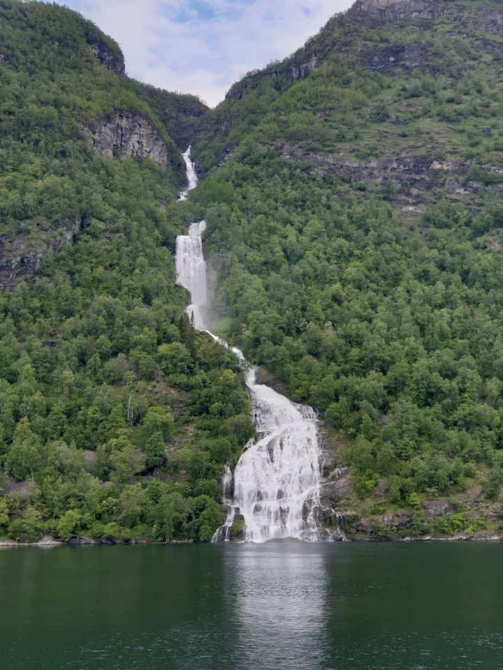 The Suitor waterfall in Geirangerfjord