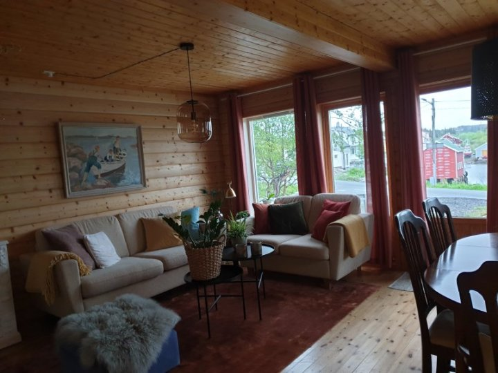 Inside Air BNB Atlantic Road Norway