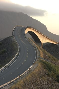 Storseisundbrua Atlantic Road Norway