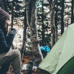 Camping in cooler climates