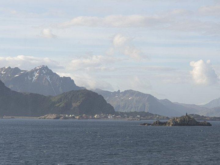 The port of Stamsund, Lofoten Islands, Norway