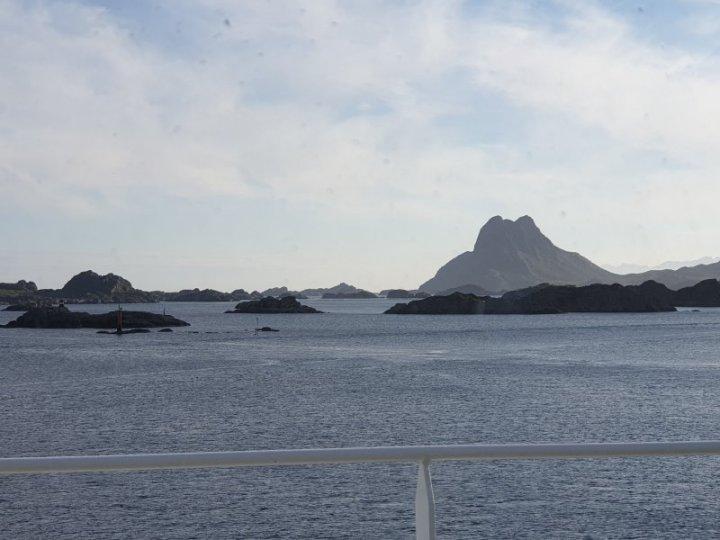 Stamsund Harbour, Lofoten Islands, Norway.