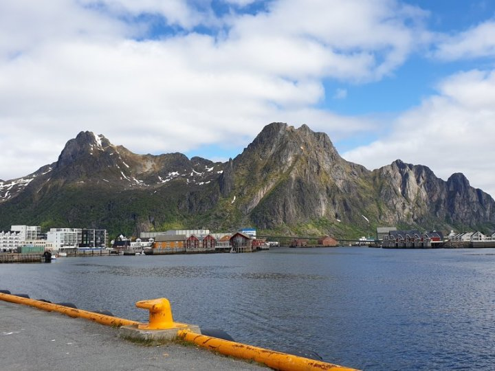Svolvær in the Lofoten Islands