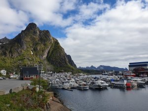 The Marina at Svolvær Norway
