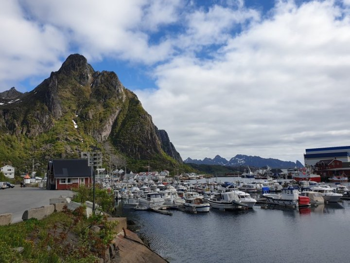 The Marina at Svolvær Norway
