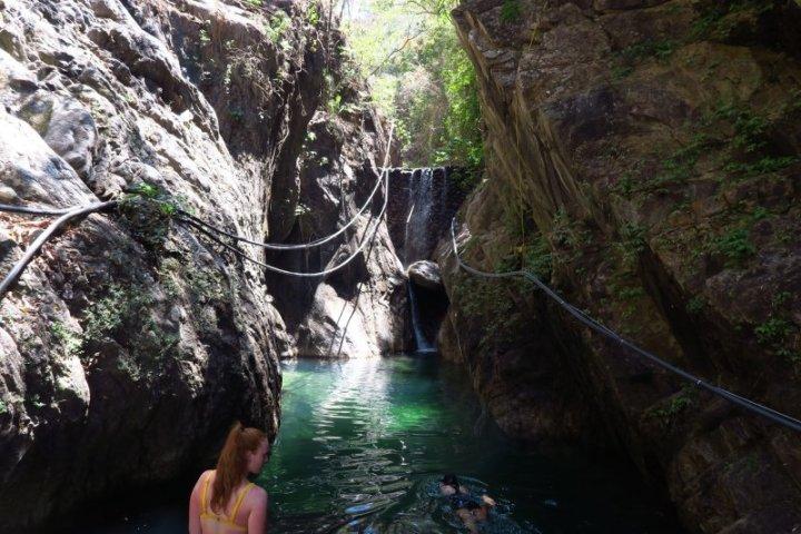 The pool below Palo Maria Waterfall