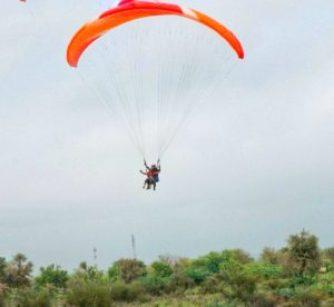Paragliding Near Mehrangarh – Jodhpur India