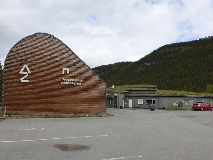 The Saltfjellet–Svartisen Park visitor centre