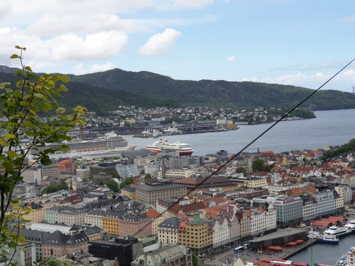 The city of Bergen on Norway's west coast