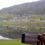 Beautiful vista from the Bergensbanen Train Norway