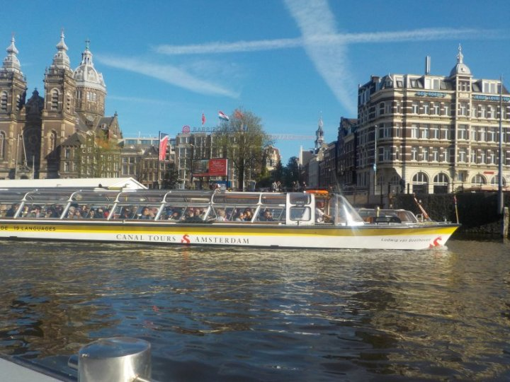 Canal Tours Boat Amsterdam