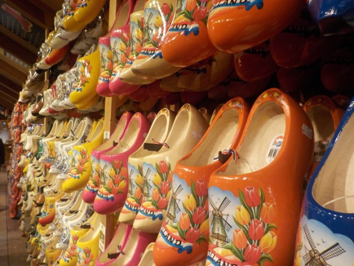 Clogs for sale in Zaanse Schans