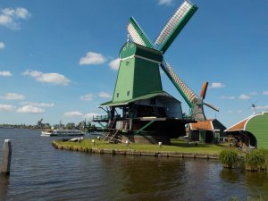 Zaanse Schans on the Zaan River