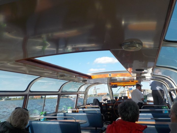 """On Board """"De Zaan"""" boat, getting ready to leave"""