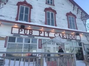 Pub Pit Caribou au coeur de Percé