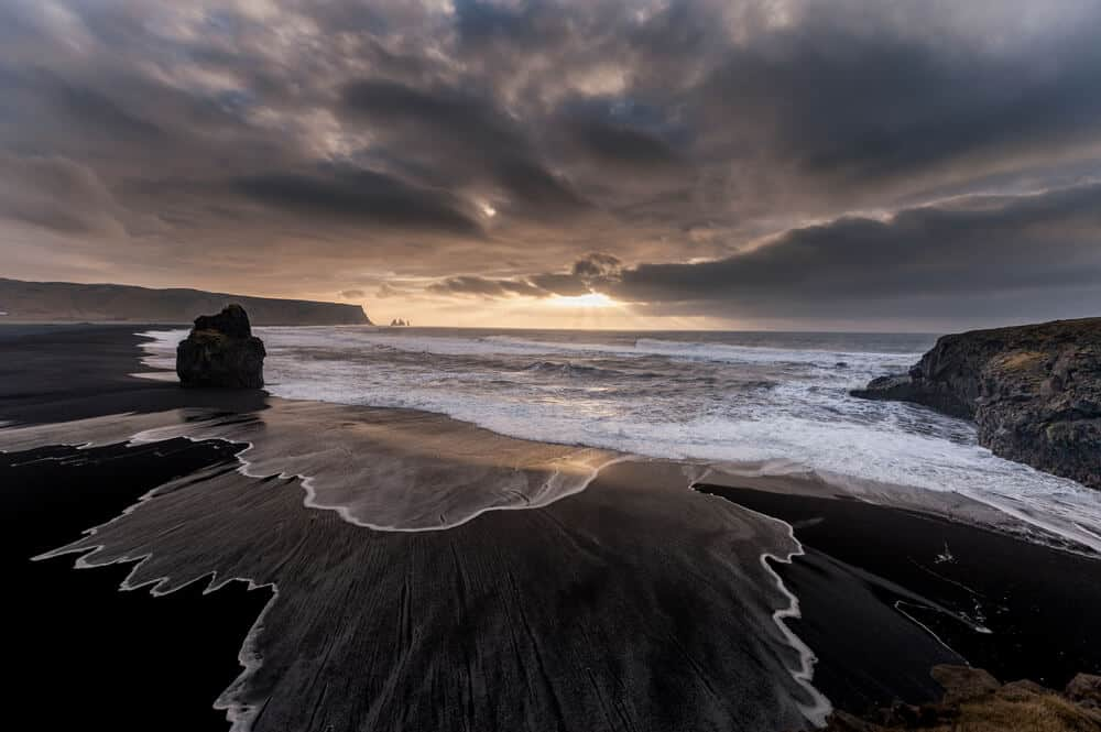 Image result for black beach iceland