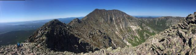 The Knife's Edge at Mt. Katahdin!