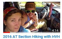2016 Appalachian Trail Section Hiking with HVH