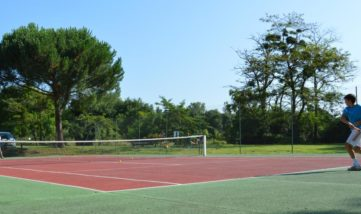 Tennis Camping Le moulin