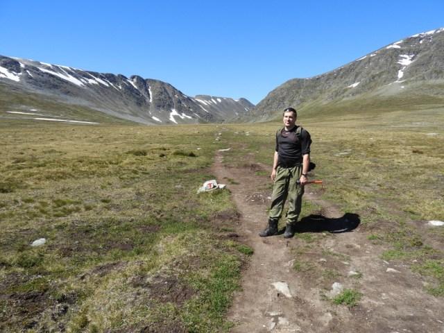 Gjevilvatnet trekking 1
