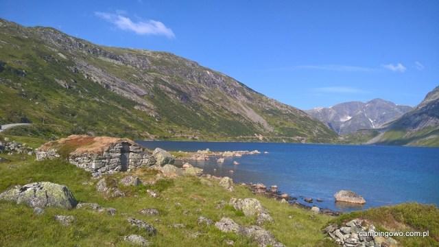 Zostajemy przy trasie Gaularfjellet na nocleg