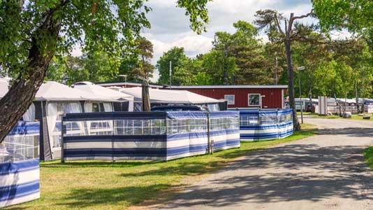 Dauercamping Wohnen Auf Dem Campingplatz