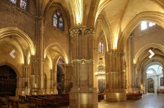 Interior de la Catedral el burgo de osma