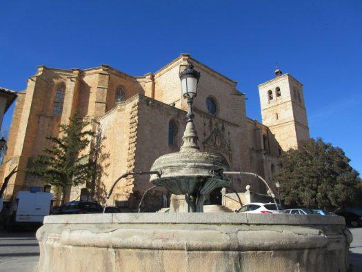 Colegiata de Santa María del Mercado.