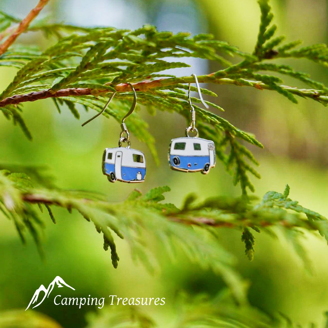 Earrings – Boler/Scamp – Blue