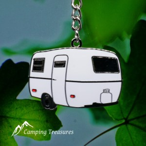 Key Chain – Boler/Casita/Scamp – White