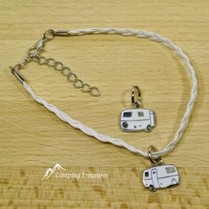 Pendant / Charm – Boler/Casita/Scamp – White