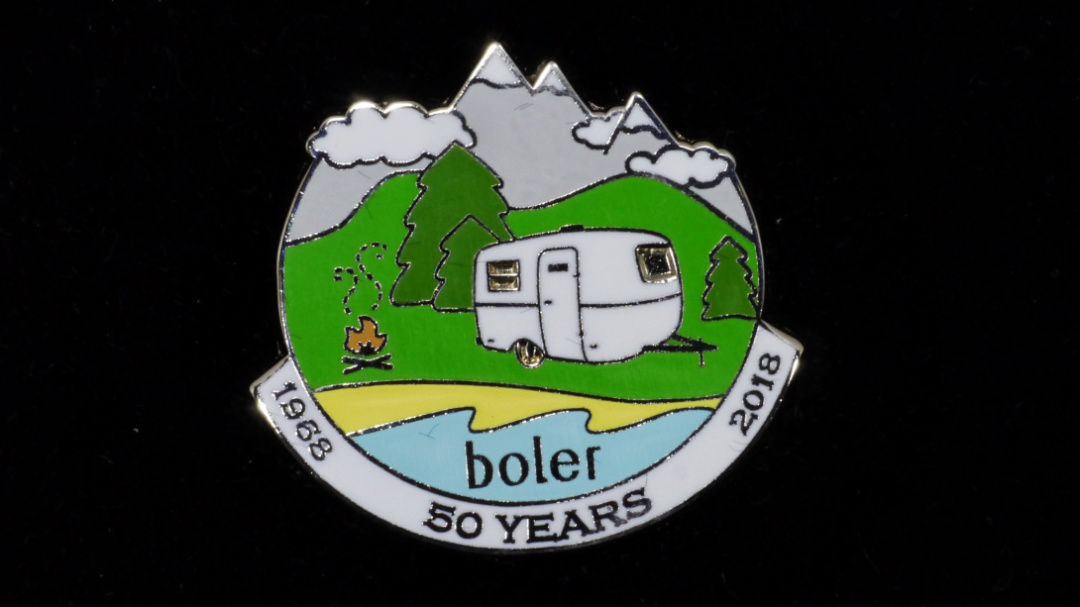 Boler – 50th Anniversary Collector Pin