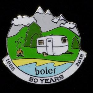 Boler – 50th Anniversary Collector Pin