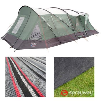 Sprayway Rift Xl Deluxe Tent Package Deal Voomia