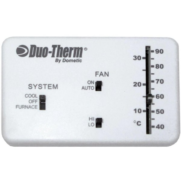 analog thermostat cool/furnace/fan