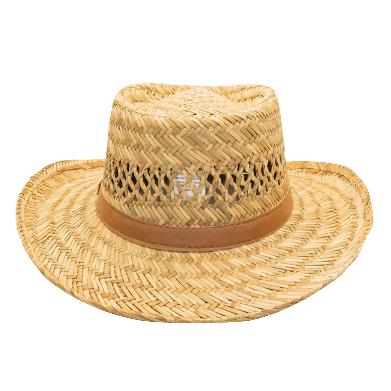 Dorfman Pacific Men S Rush Gambler Straw Hat Camping World