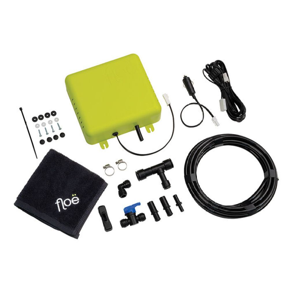 floe down 12v integrated drain down system