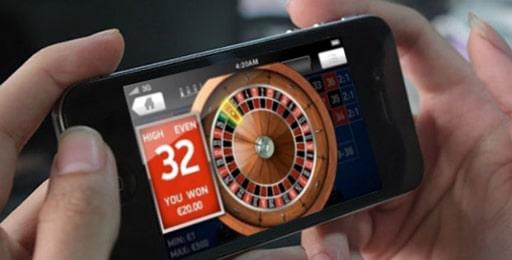 スマートフォンでもギャンブルを楽しめる