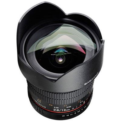 Samyang 10mm f2.8 ED AS NCS CS Ultra Wide Angle Lens