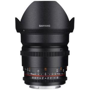 Samyang 16mm T2.2 ED AS UMC CS II VDSLR Lens
