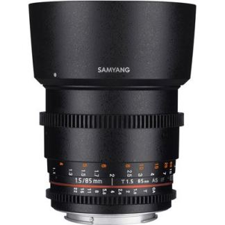 Samyang 85mm T1.5 AS IF UMC II VDSLR Lens
