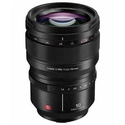 Panasonic S Pro 50mm f1.4 Lens