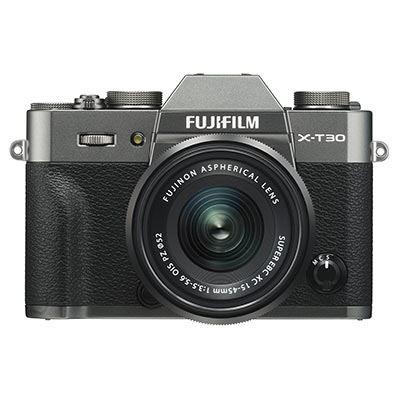 Fujifilm X-T30 Digital Camera with XC 15-45mm Lens - Charcoal Grey