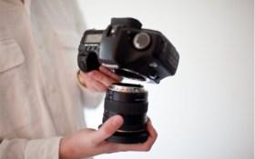Sensor lens change