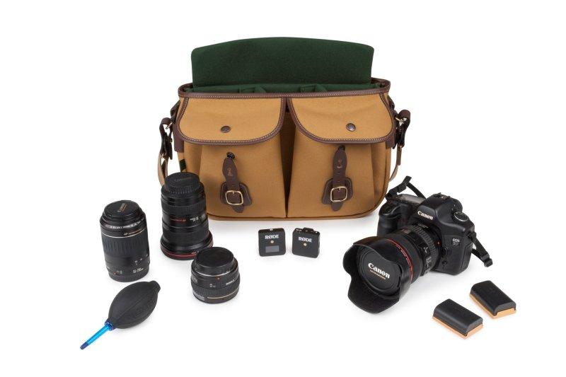 Billingham Hadley Pro 2020 with Canon 5D 50mm 55 200mm 16