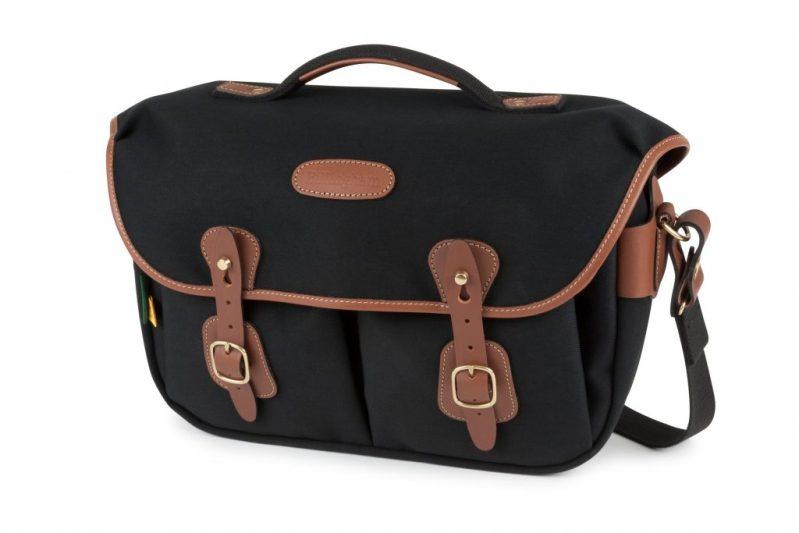 Billingham Hadley Pro 2020 FRONT Black Canvas Tan Leather 4000x@2x.progressive scaled