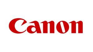Canon Logo on Canon Page