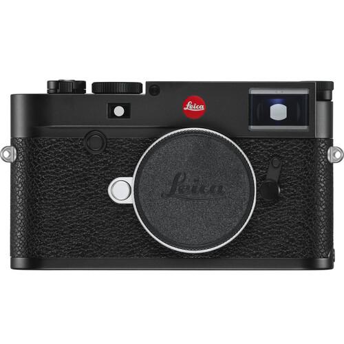 Leica M10-R Digital Rangefinder Camera (Black Chrome)